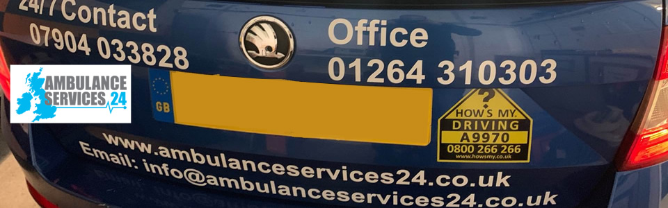 Ambulance Services 24 is one of the latest businesses to join How's My Driving?
